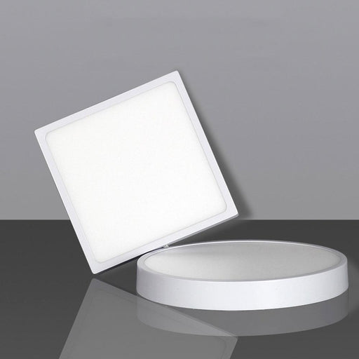 Ultra-Narrow Edge Led Ceiling Light Panel Lamp Surface Mounted Square/Round 16W 22W 30W For-Ceiling Lighs & Fans-TLB Lighting Store-Sqaure 16W-Warm White-EpicWorldStore.com