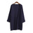 Ulzzang Girl Casual Long Knitted Cardigan Autumn Korean Women Loose Solid Color Pocket Design-Sweaters-Knitwear clothes Store-Navy S031-S-EpicWorldStore.com