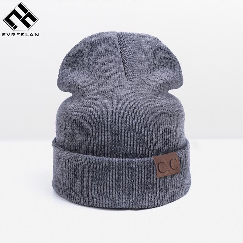 872b694370a Unisex Winter Hat For Men Women Warm Skullies   Beanies Mens Winter Caps  Hat Knitted Hat