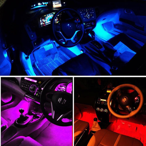 Universal Wireless Remote Control Car Rgb Led Neon Interior Light Lamp Strip Decorative Atmosphere-Car Lights-crazyshoplife88-EpicWorldStore.com