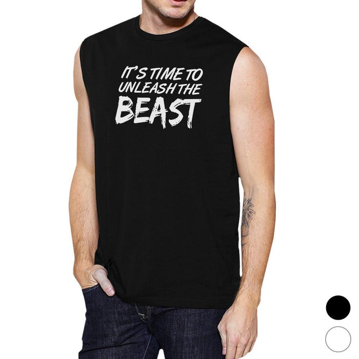 dcb423f6 Unleash Beast Mens Funny Workout Tank Top Muscle Shirt Gym Gifts-Apparel &  Accessories-