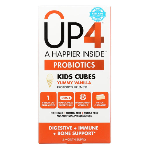 Up4 Probiotics - Dds1 Kids Cubes - 60 Chewables-Eco-Friendly Home & Grocery-Up4 Probiotics-EpicWorldStore.com
