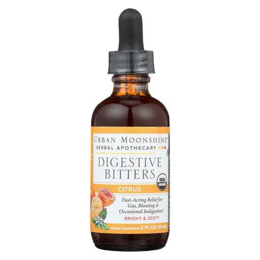 Urban Moonshine - Digestive Bitters - Citrus - Dropper - 2 Fl Oz.-Eco-Friendly Home & Grocery-Urban Moonshine-EpicWorldStore.com