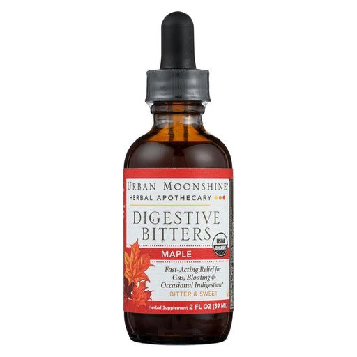 Urban Moonshine - Digestive Bitters - Maple - Dropper - 2 Fl Oz.-Eco-Friendly Home & Grocery-Urban Moonshine-EpicWorldStore.com