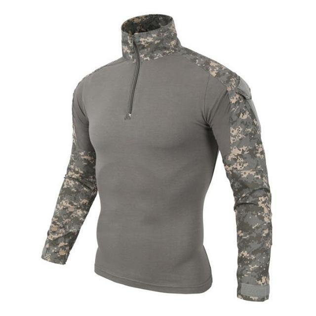Us Army Tactical Military Uniform Airsoft Camouflage Combat-Proven Shirts Rapid Assault Long-Work Wear & Uniforms-WOLF ENEMY Terminator Gear Store-CUP-S-EpicWorldStore.com