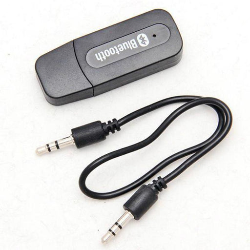 Usb 3.5Mm Aux Wireless Portable Mini Black Bluetooth Music Audio Car Handsfree Receiver Adapter-Networking-jackie shen's store-EpicWorldStore.com