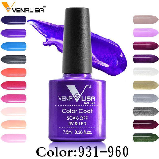 Venalisa Bling 7.5 Ml Soak Off Uv Gel Nail Gel Polish Cosmetics Nail Art Manicure Nails-Nails & Tools-VENALISA Official Store-NoWipe-EpicWorldStore.com