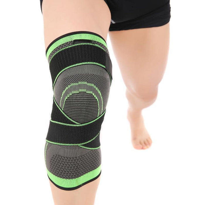 Vertvie Professional Pressurized Knee Pads Bandage Sport Safety Support Knee Wrap Guard Protection-Sport Accessories-Shop1180705 Store-L-EpicWorldStore.com