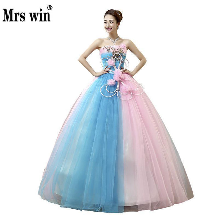 4f2a517a7 Vestidos De Quince Anos Sweet Flowers Quinceanera Dresses Crystal Luxury Lace  Debutante Gown-Quinceanera Dresses