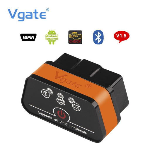Vgate Icar2 Elm327 Obd2 Bluetooth Adapter Obd 2 Car Diagnostic Tool Scanner Elm 327 V2.1-Car Repair Tools-Motordiag Technology Co., Ltd.-EpicWorldStore.com