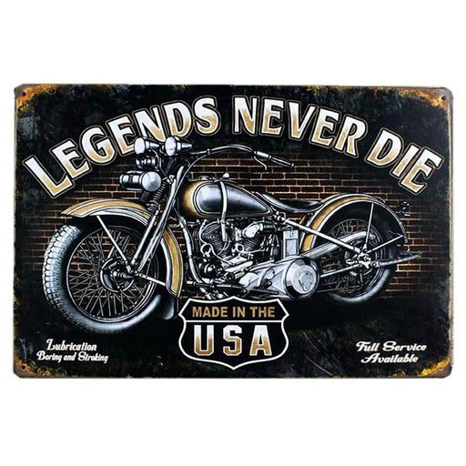 Vintage Metal Tin Signs Motorcycle Retro Plaque Poster Bar Pub Club Wall Tavern Garage Home Decor-Denim Meow Official Store-5043-EpicWorldStore.com