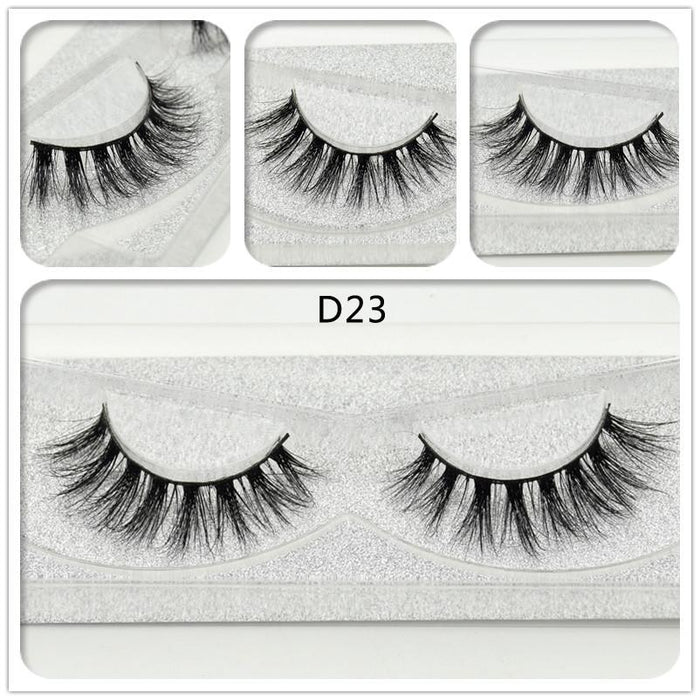 8f135544a63 Visofree Mink Eyelashes 3D Mink Lashes Natural False Eyelashes Cruelty Free  Mink Eyelashes-Makeup-