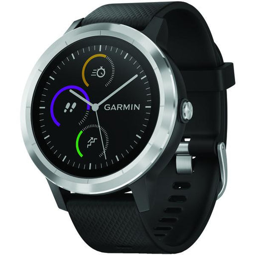 Vivoactive(R) 3 (Black With Stainless Hardware)-Outdoor Recreation & Fitness-EpicWorldStore.com-EpicWorldStore.com