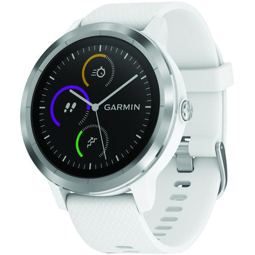Vivoactive(R) 3 (White With Stainless Hardware)-Outdoor Recreation & Fitness-EpicWorldStore.com-EpicWorldStore.com
