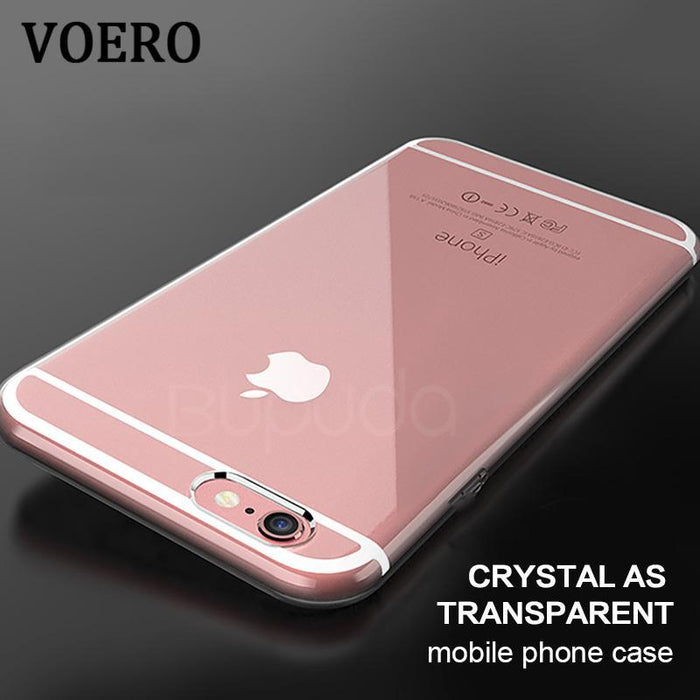 brand new 61468 01042 Voero Transparent Phone Back Silicone Soft Tpu Case For Iphone 6 6S 6 Plus  6S Plus Cover For