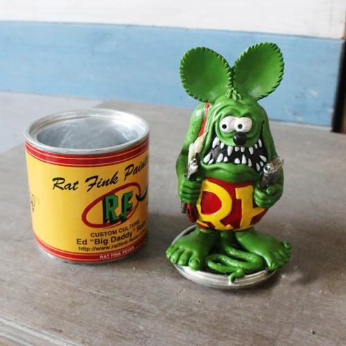 Vogue America Classic Cartoon Image Tales Of The Rat Fink Resin Action Figure In New Box-Action & Toy Figures-Global Gifts & Souvenirs Store-EpicWorldStore.com