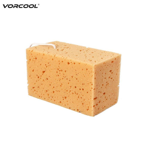 Vorcool Car Auto Vehicle Washing Cleaning Sponge (Yellow)-Car Wash & Maintenance-Vorcool Official Store-EpicWorldStore.com