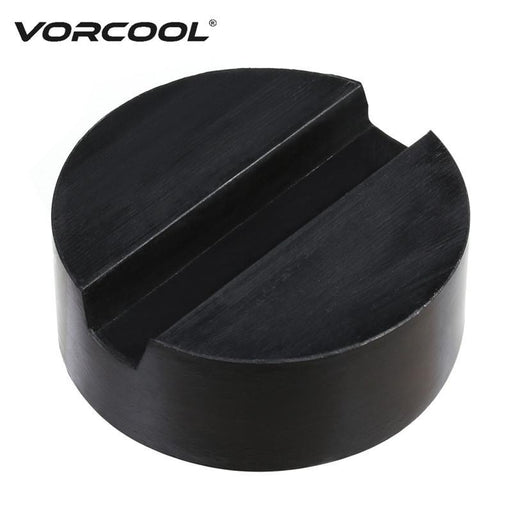 Vorcool Floor Slotted Car Rubber Jack Pad Frame Protector Adapter Jacking Disk Pad Tool For Pinch-Car Repair Tools-Vorcool Official Store-EpicWorldStore.com