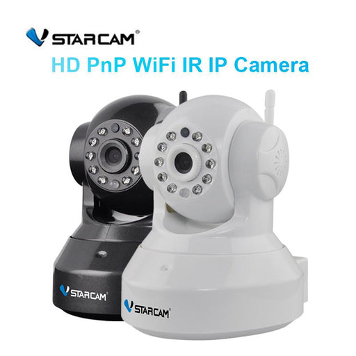 Vstarcam C7837Wip 720P Wireless Network Camera Wifi Home Video Surveillance Night Vision P2P Support-Security IP camera Store-White Color-EU Plug-EpicWorldStore.com