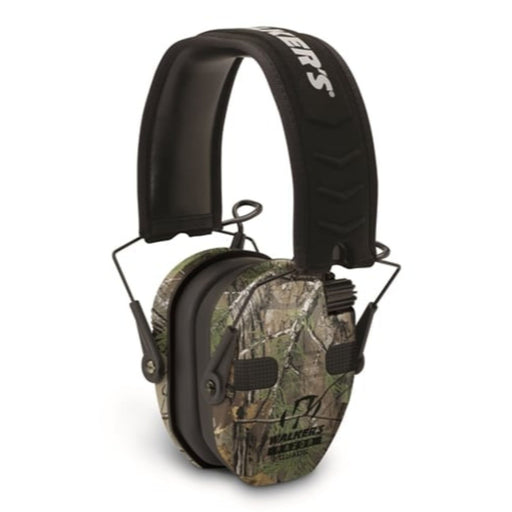 Walkers Razor Slim Electronic Quad Muff Realtree Xtra-Camping & Outdoors-WALKERS-EpicWorldStore.com