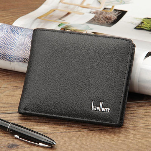 Wallet Men Soft Leather Wallet Multifunction Big Capacity Top Quality Men Wallets Purse With Coin-Coheart Store-Black-EpicWorldStore.com