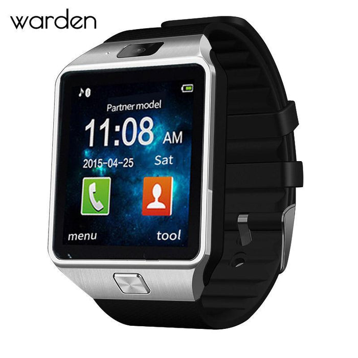 Warden Electronic Men Smart Watch Led Sport Life Waterproof Pedometer Smartwatch Bluetooth Digital-Lover's Watches-The Warden Official Store-Gold-EpicWorldStore.com