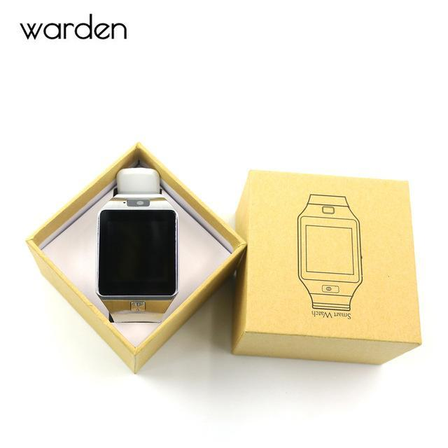 Warden Electronic Men Smart Watch Led Sport Life Waterproof Pedometer Smartwatch Bluetooth Digital-Lover's Watches-The Warden Official Store-White-EpicWorldStore.com