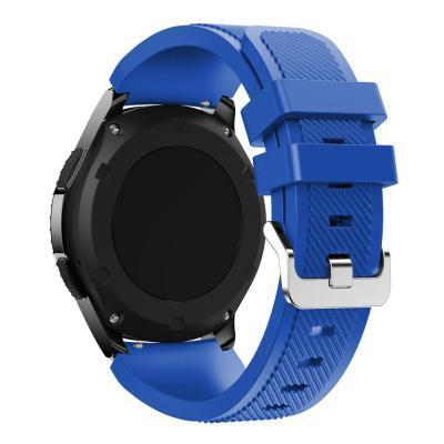 Watchbands Black 22Mm Luxury Brand New Sports Silicone Bracelet Strap Band For Samsung-Watch Accessories-Good Watches Store-Blue-EpicWorldStore.com