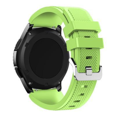 Watchbands Black 22Mm Luxury Brand New Sports Silicone Bracelet Strap Band For Samsung-Watch Accessories-Good Watches Store-Green-EpicWorldStore.com