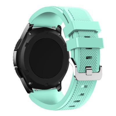 Watchbands Black 22Mm Luxury Brand New Sports Silicone Bracelet Strap Band For Samsung-Watch Accessories-Good Watches Store-Mint Green-EpicWorldStore.com
