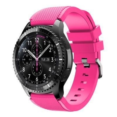 Watchbands Black 22Mm Luxury Brand New Sports Silicone Bracelet Strap Band For Samsung-Watch Accessories-Good Watches Store-Pink-EpicWorldStore.com