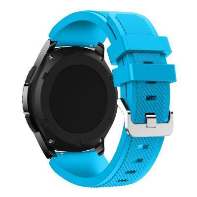 Watchbands Black 22Mm Luxury Brand New Sports Silicone Bracelet Strap Band For Samsung-Watch Accessories-Good Watches Store-Sky Blue-EpicWorldStore.com