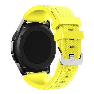 Watchbands Black 22Mm Luxury Brand New Sports Silicone Bracelet Strap Band For Samsung-Watch Accessories-Good Watches Store-Yellow-EpicWorldStore.com