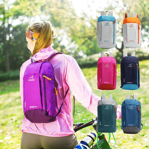 Waterproof Gym Cycling Bag Women Foldable Backpack Nylon Outdoor Sport Luggage Bag For Fitness-Gym Bags-JUFITSAMRT Store-dark blue-EpicWorldStore.com