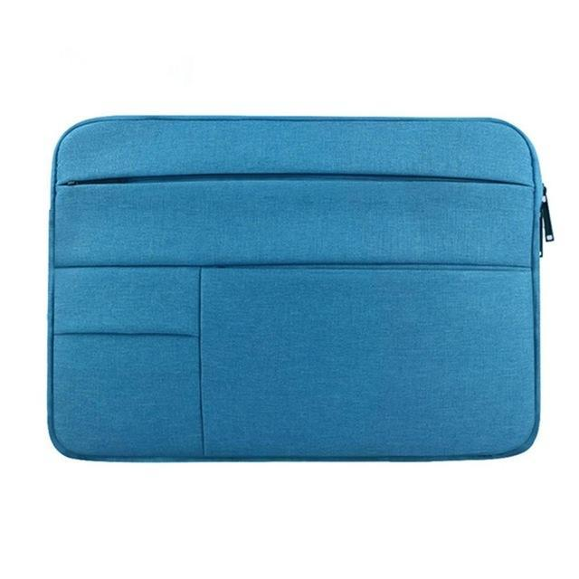 Waterproof Laptop Bag Case Solid Computer Cover For Dell Hp Acer Lenovo For Macbook 11.6 12 13 14 15-Laptop Accessories-PC world Store-Blue-12inch-EpicWorldStore.com