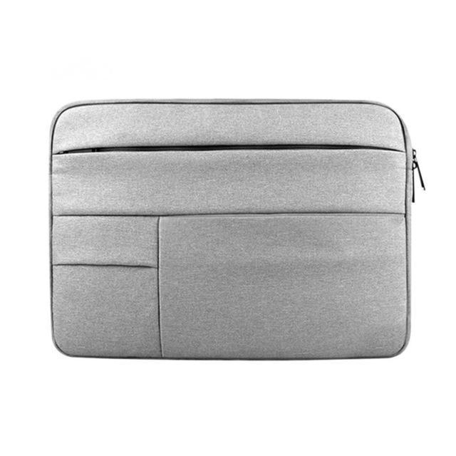 Waterproof Laptop Bag Case Solid Computer Cover For Dell Hp Acer Lenovo For Macbook 11.6 12 13 14 15-Laptop Accessories-PC world Store-Gray-12inch-EpicWorldStore.com