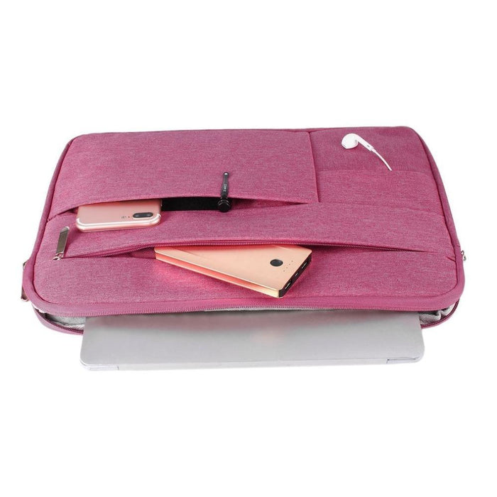 Waterproof Laptop Bag Case Solid Computer Cover For Dell Hp Acer Lenovo For Macbook 11.6 12 13 14 15-Laptop Accessories-PC world Store-pink-12inch-EpicWorldStore.com