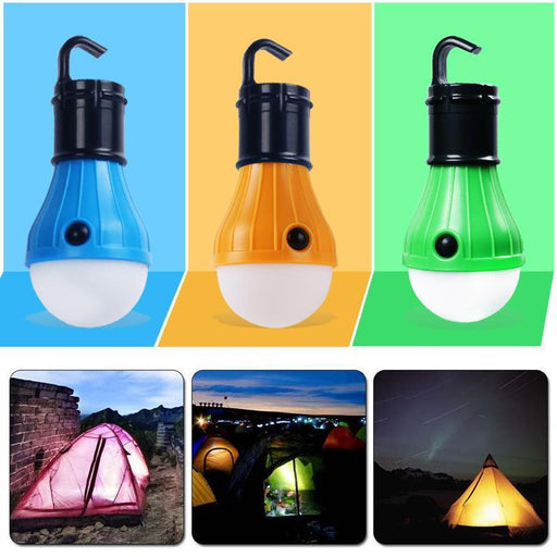 Waterproof Portable Flashlights Tent Lamp Led Bulb Emergency Night Light Camping Lantern For Camping-Outdoor Lighting-Room Decor Luminaria Store-Blue-EpicWorldStore.com