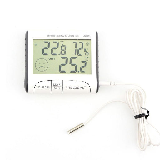 Weather Station Household Indoor And Outdoor Use Temperature Humidity Meter Temperature Display-Household Merchandises-Cells In The Sun-EpicWorldStore.com