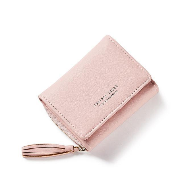 639865093f5 Weichen Tassel Pendant Design Small Clutch Wallets For Women, Coin Purses  Card Holders Invoice