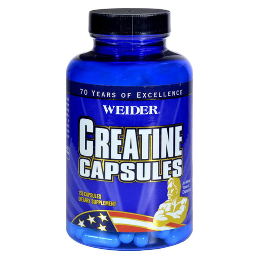 Weider Creatine Capsules - 150 Capsules-Eco-Friendly Home & Grocery-Weider Global Nutrition-EpicWorldStore.com