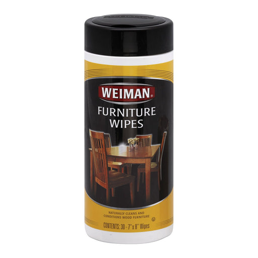 Weiman Furniture Wipes - Case Of 4 - 30 Count-Eco-Friendly Home & Grocery-Weiman-EpicWorldStore.com