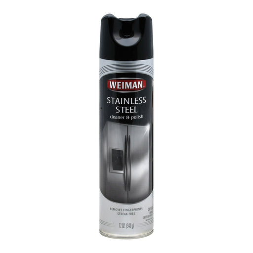 Weiman Stainless Steel - Cleaner And Polish - Case Of 6 - 12 Oz.-Eco-Friendly Home & Grocery-Weiman-EpicWorldStore.com