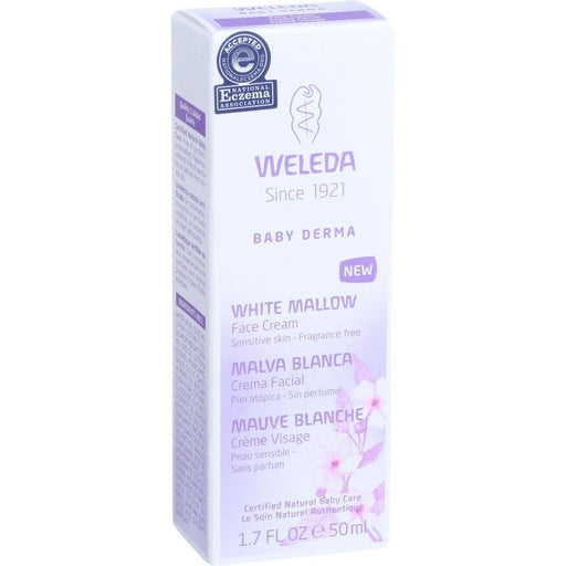 Weleda Face Cream - Baby Derma - White Mallow - 1.7 Oz-Eco-Friendly Home & Grocery-Weleda-EpicWorldStore.com