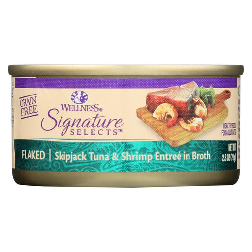 Wellness Pet Products Cat - Can - Tuna - Shrimp - Signature Selects - Case Of 12 - 2.8 Oz-Eco-Friendly Home & Grocery-Wellness Pet Products-EpicWorldStore.com