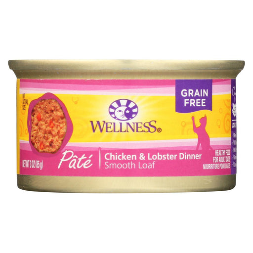 Wellness Pet Products Cat Food - Chicken And Lobster - Case Of 24 - 3 Oz.-Eco-Friendly Home & Grocery-Wellness Pet Products-EpicWorldStore.com