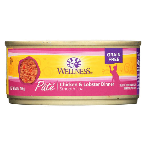 Wellness Pet Products Cat Food - Chicken And Lobster - Case Of 24 - 5.5 Oz.-Eco-Friendly Home & Grocery-Wellness Pet Products-EpicWorldStore.com