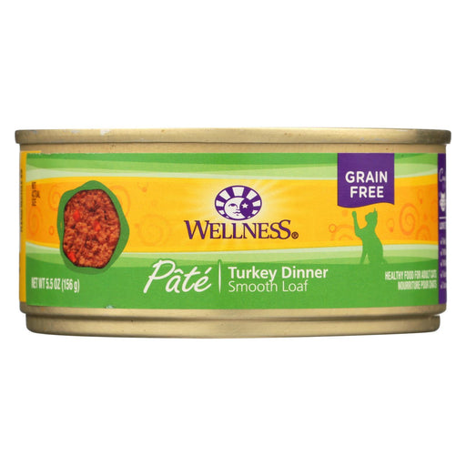 Wellness Pet Products Cat Food - Turkey Recipe - Case Of 24 - 5.5 Oz.-Eco-Friendly Home & Grocery-Wellness Pet Products-EpicWorldStore.com