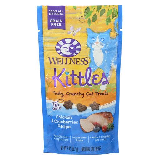 Wellness Pet Products Cat Treat - Kittles - Chicken & Cranberries - Case Of 14 - 2 Oz-Eco-Friendly Home & Grocery-Wellness Pet Products-EpicWorldStore.com