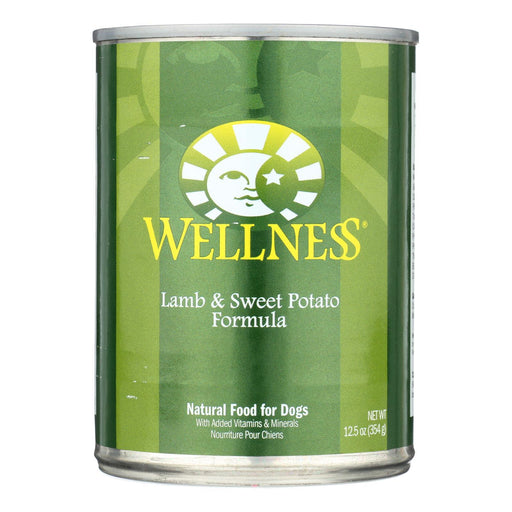 Wellness Pet Products Dog Food - Lamb And Sweet Potato Recipe - Case Of 12 - 12.5 Oz.-Eco-Friendly Home & Grocery-Wellness Pet Products-EpicWorldStore.com